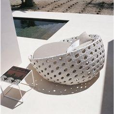 B&B Italia Canasta Outdoor Loungesessel, Sofainsel 180 cm