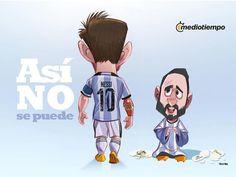 Se va Messi