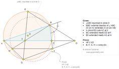 Geometry Problem 1268: Exterior Angle Bisector, Circumcircle, Circle, Chord, Parallel, Concyclic Points, Cyclic Quadrilateral
