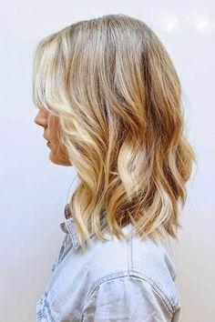 Hairstyles Shoulder Length Wavy Hair