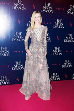 Sorry, but Elle Fanning's Style Is Just Too Good to Handle via @WhoWhatWear
