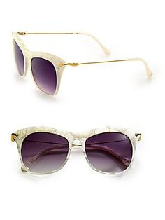 Fairfax Cat S Eye Sunglasses Rose