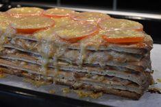 Varm smörgåstårta med baconfyllning