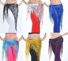 Belly dance scarve