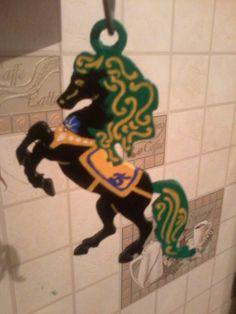 Конь на ёлку Сделано руками )