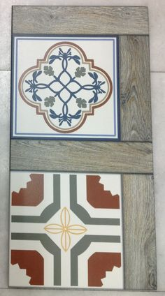 Variation Patchwork & Wood mix Porcelain tile