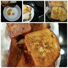 Αυγόφετες παραδοσιακές...απ τη #μαμά...στην κόρη... #πικνίκ French Toast, Breakfast, Food, Morning Coffee, Essen, Meals, Yemek, Eten