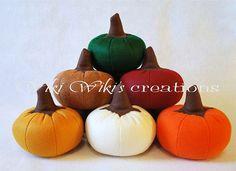 Large Plush Pumpkins