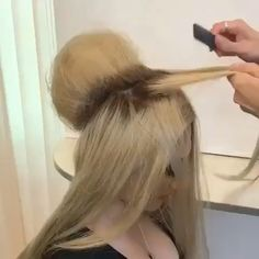 Pin by Lisa Dickert on Frisur [Video] in 2020 Hair Up Styles, Medium Hair Styles, Hair Videos, Hairstyles Videos, Bride Hairstyles, Hair Hacks, Bridal Hair, Hair Inspiration, Hair Makeup