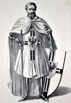 The Complete History of the Teutonic Order - Deutscher Orden - German Order - Knights Hospitaller, Knights Templar, Medieval Weapons, Medieval Knight, Knight Orders, Christian Warrior, Anime Military, Holy Roman Empire, Knight Armor