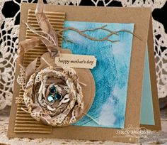 nesting Mothers day card