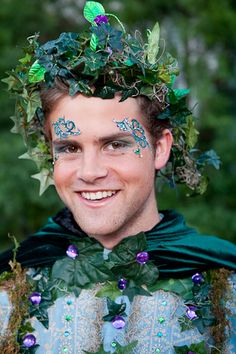 """Conversations with the Muses: A Magical """"Green"""" Woodland Party..."""