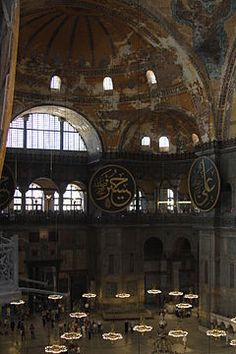 Basílica de Santa Sofia - Istambul - Turquia