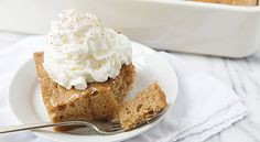 Gingerbread Poke Cake | Taste for Adventure - Unusual, Unique & Downright Awesome Recipes