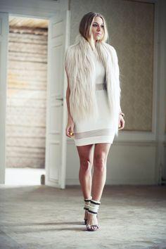 Gorgeous fur vest