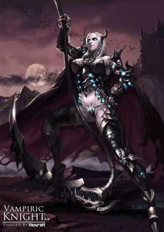 The Female Vampiric Knight 2.0 by reaper78 on DeviantArt