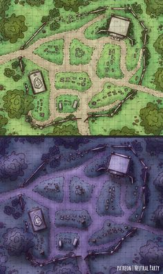 battlemap graveyard forest dnd map battle maps fantasy rpg dungeon pathfinder temple cemetery oc mausoleum tabletop night tiles reddit dungeons