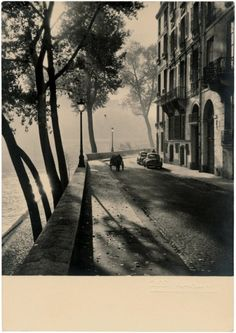 Albert Monier: Views of Paris. 1940s.