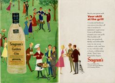 Vintage Ad Archive: Memorial Day Cookout!   The Alcohol Professor