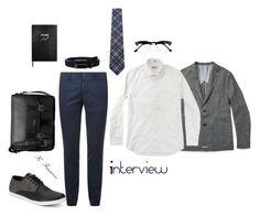 """Outfit 1"" by keeshafrancois on Polyvore featuring Duchamp, Slowear, Topman, Ben Sherman, Bugatchi, Michael Kors, Sloane Stationery, men's fashion and menswear"
