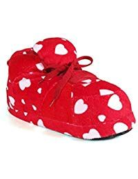 46d0188c80b9  27.99 - Happy Feet 1100-1 - Red Heart - Small Sneaker Slippers - - · Womens  ...