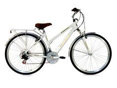 Northwoods Ladies Springdale 21 Speed Hybrid Bicycle, White