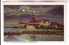 Hotel Del Coronado in Moonlight, Coronado, California, HL Christance