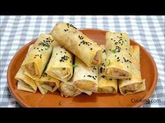 Cuuking! Recetas de cocina: Rollitos de pollo, queso y bacon ¡Una receta de aprovechamiento deliciosa!