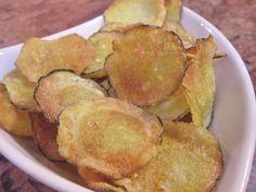 Gluten free zucchini chips:)