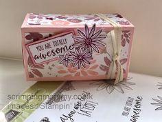 scrimpingmommy: Fantastic no glue fold flat box..