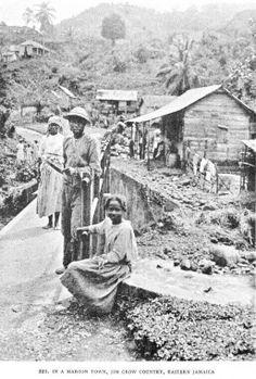 Maroon district, Eastern Jamaica