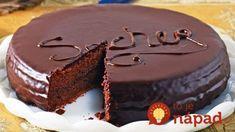 Recepty - Strana 2 z 100 - Vychytávkov Chocolate Sponge Cake, Chocolate Glaze, Melting Chocolate, Sweet Desserts, Sweet Recipes, Cake Recipes, Polish Cake Recipe, How Sweet Eats, Aesthetic Food