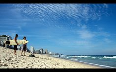 Surfing, Rio de Janeiro, Brasil