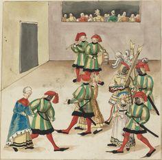German 16th Century  Masquerade, c. 1515  Rosenwald Collection  1943.3.4398  Open Access