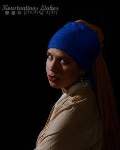 The girl with the pearl earring!
