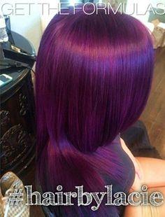 How to get mermaid hair color awesome plum colored hair hair color ideas for brunettes health Love Hair, Gorgeous Hair, Beautiful, Hair Color 2016, Hair Color Formulas, Violet Hair, Deep Purple Hair, Plum Hair, Purple Hair