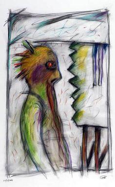 """Los """"monstruos"""" de Juan Cavallero en el Palais de Glace"""