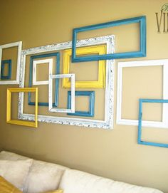 Empty Frames Wall Decor Arrangements Pinterest And