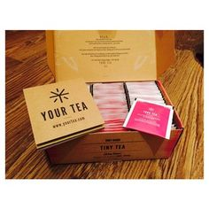 Only been a few days & I am already completely in love with #yourtea @yourtea @tinyteatox thank you x