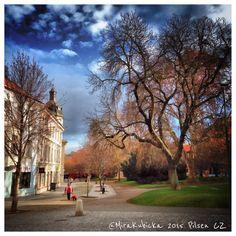 Pilsen Czech Republic #DiscoverCZ #pilsen #plzen #plzeň #pilsnerurquell #czechdesign #cz #czech #czdsgn #czechia #czechrepublic #české #česko #českárepublika #garden #history #heritage #street #world #2015 #house #tree