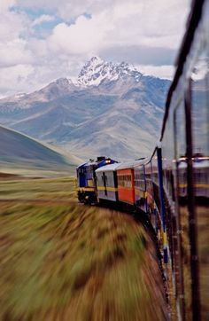 ...into the Andes