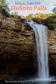 Desoto State Park, Desoto Falls, Cloudland Canyon, Cave Entrance, Fall Picnic, Famous Waterfalls, Kayak Rentals, Trail Guide, River Trail