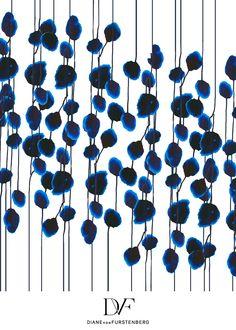 DVF | Poppy Drip print, Spring 2013: Palazzo