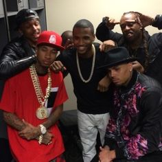 Trey Songz, Chris Brown, Tyga, August Alsina, & Ty Dolla $