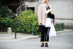 On the Streets of Paris Fashion Week Spring 2015 - Paris Fashion Week Spring 2015 Day 2
