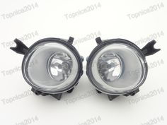 2Pcs Front Fog Lights Fog Driving Lamps Car Styling For Porsche Cayenne 2008-2010