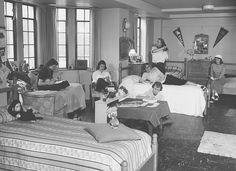 Ladies Dorm Life in the 1950s