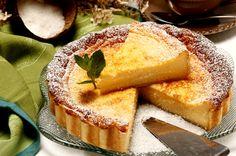 Receita de Tarte de coco. Descubra como cozinhar Tarte de coco de maneira prática e deliciosa com a Teleculinaria!