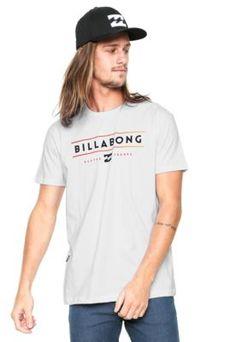 Camiseta Billabong Tri Bong Branca