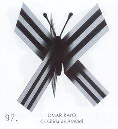 Crisálida de arrebol Obra de Omar Rayo